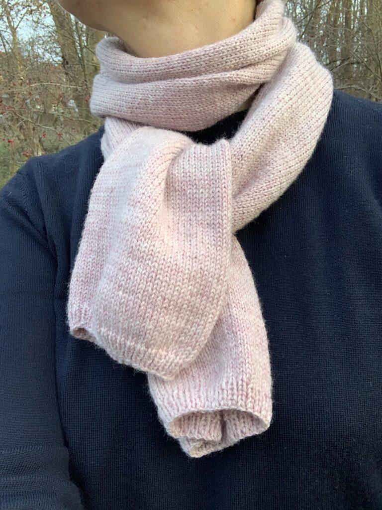 Halstørklæde højkant