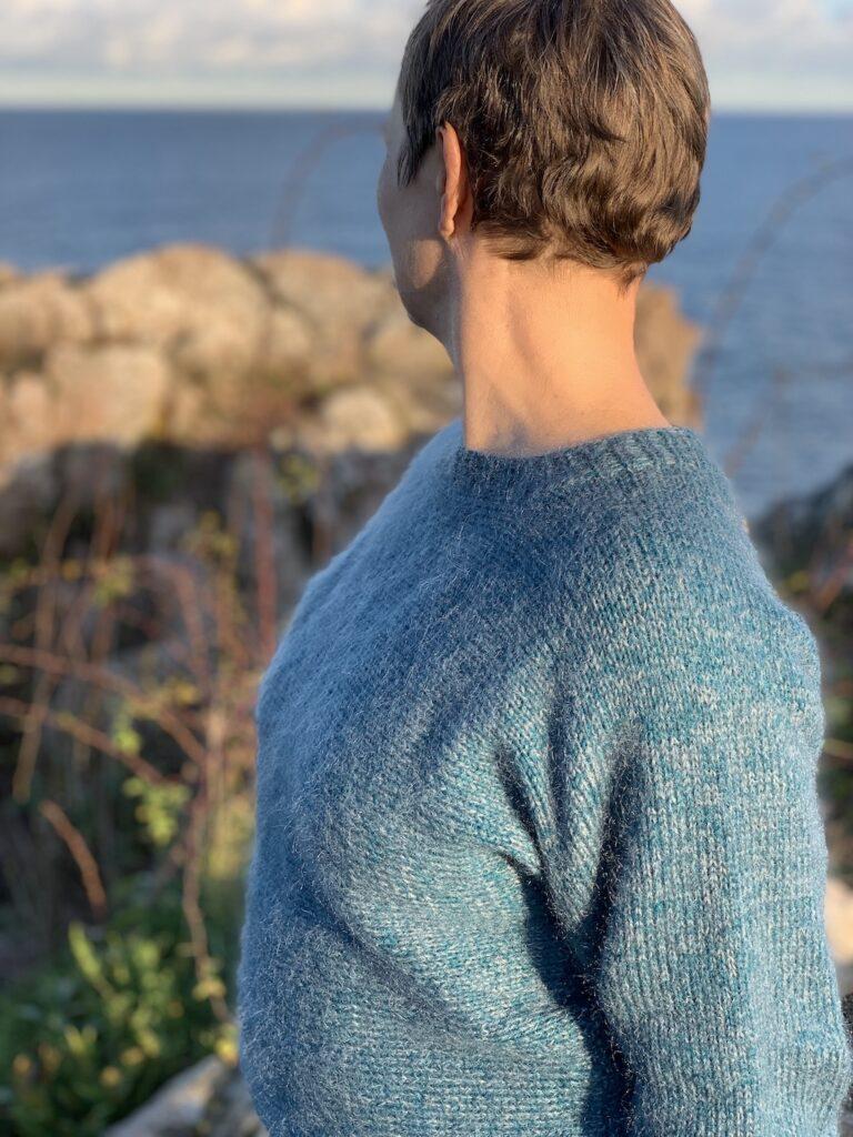 Melsted sweater fra siden