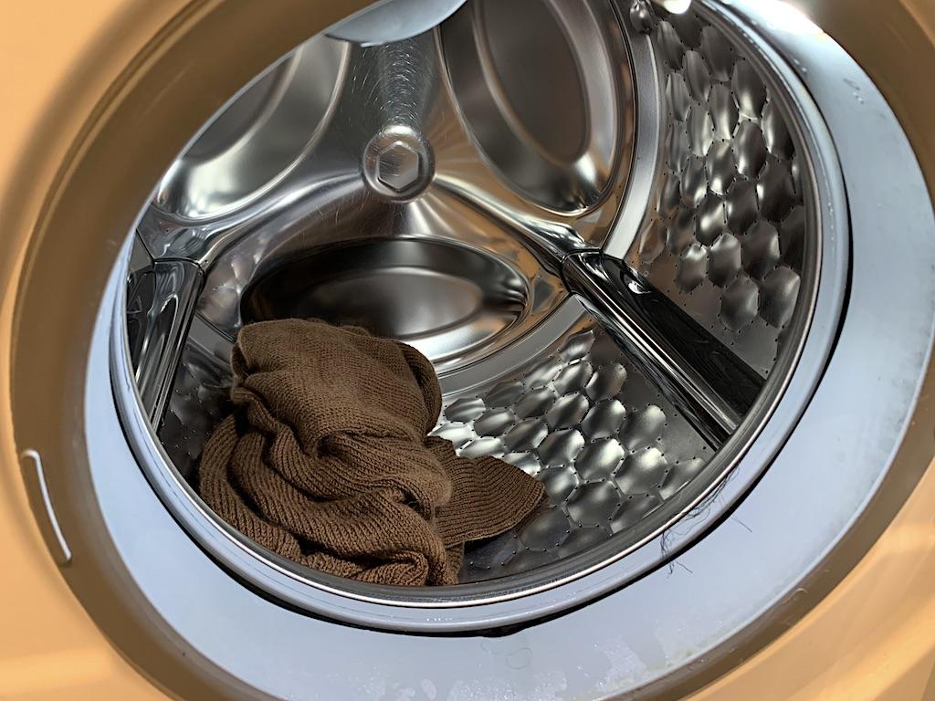 Uldvask - efter centrifugering