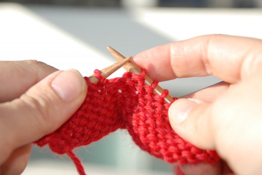 Lær at strikke: Sådan strikker du vrang