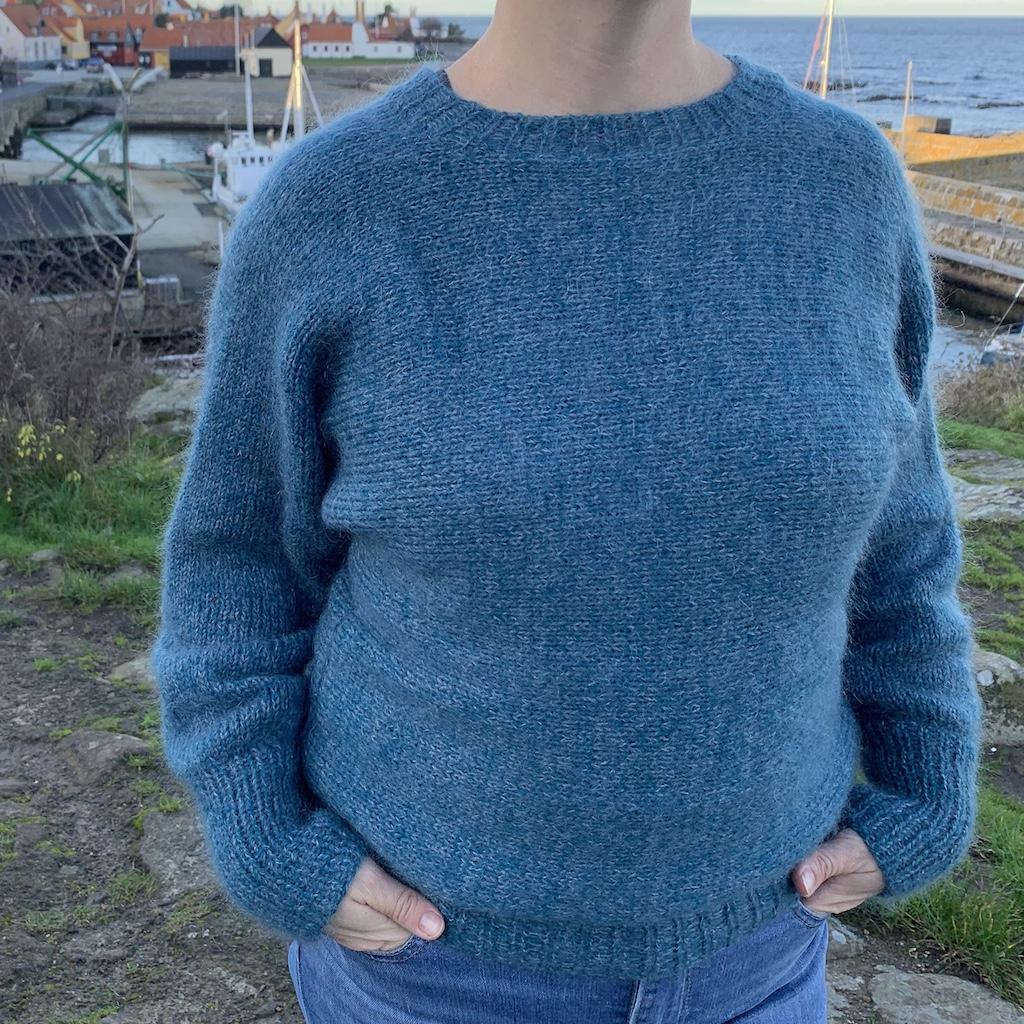 Melsted sweater - få strikkeopskriften her