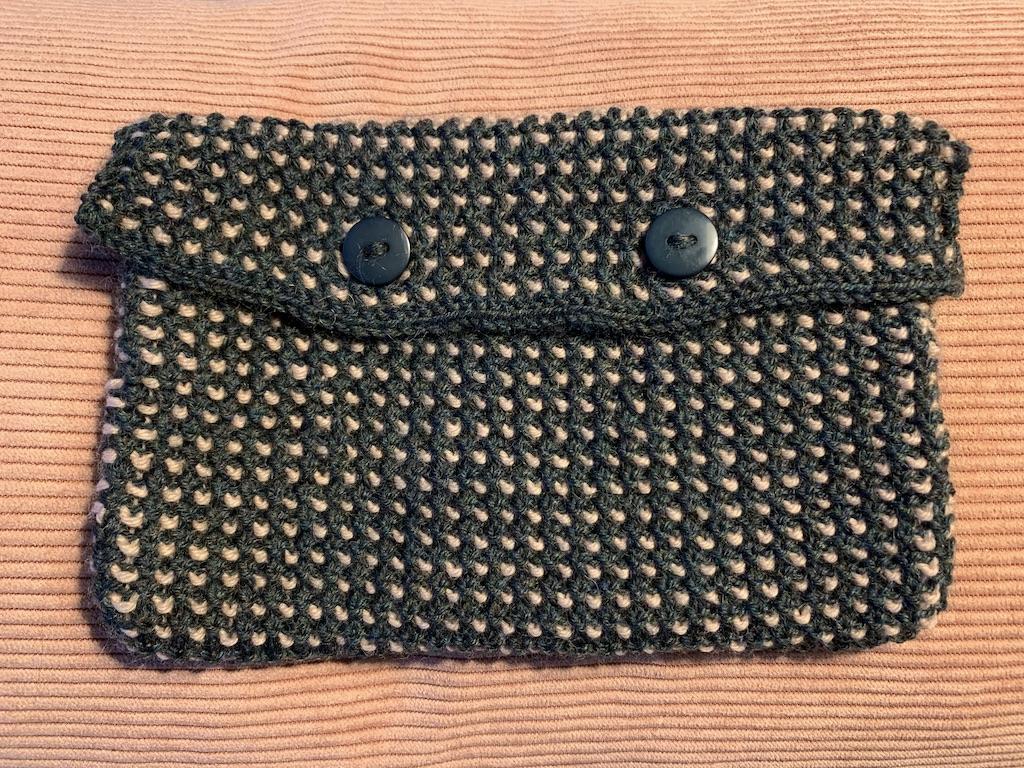 Taske i vævestrik