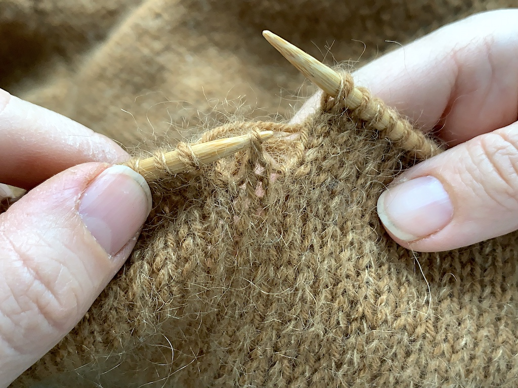 Tabt maske - fang maske strikkepind02