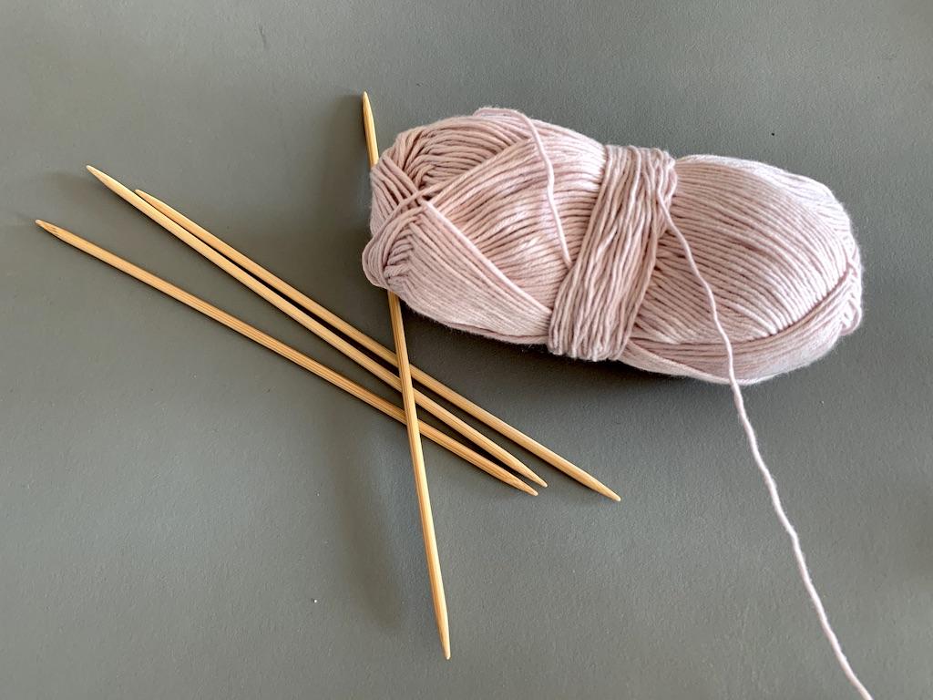 Strømpepinde i bambus