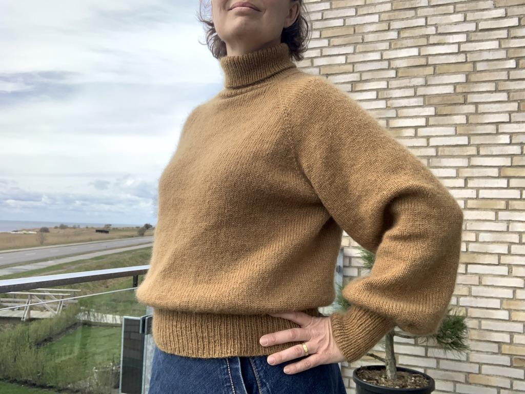 Viggas Rullekravesweater