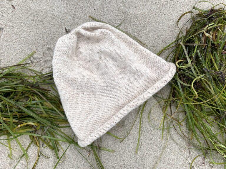 Viggas Rullehue på stranden